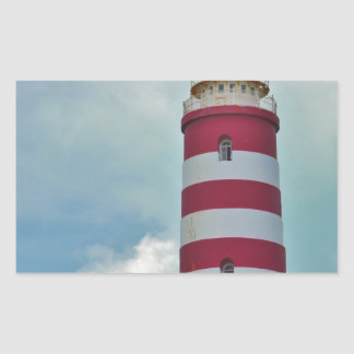 Hope Town Lighthouse Rectangular Sticker