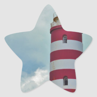 Hope Town Lighthouse Star Sticker
