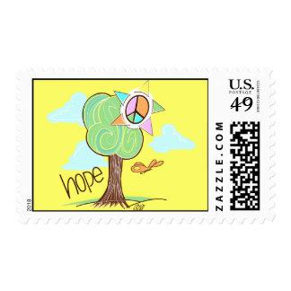 Hope Tree Postage (Yellow)