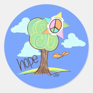 Hope Tree Stickers