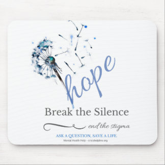 Hope Tribe Dandelion Mousepad
