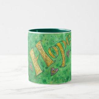 Hope Two-Tone Coffee Mug