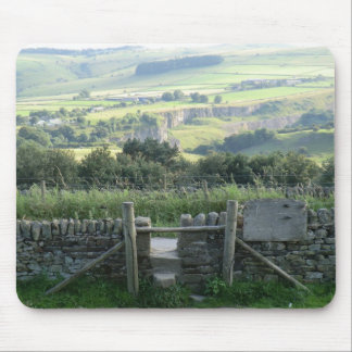 Hope Valley in the Derbyshire Dales Mouse Pad