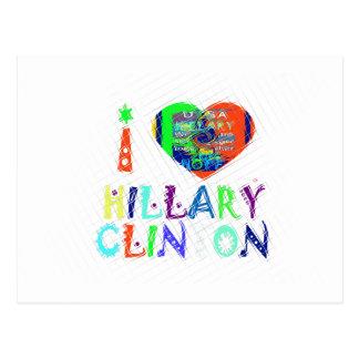 Hope Vote Blue  Lovely Reflection Amazing Hillary Postcard