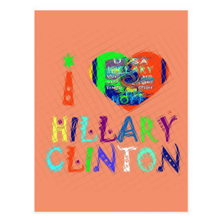 Hope Vote Blue  Lovely Reflection Amazing Hillary Postcard
