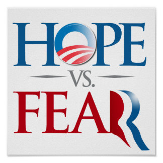 HOPE VS FEAR.png Poster
