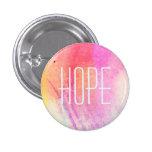 Hope Watercolor Button