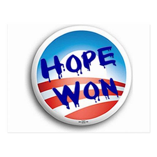 Hope Win Post Card