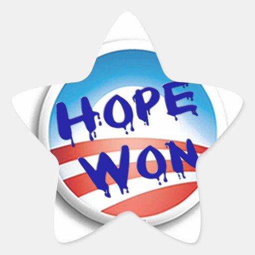 Hope Win Sticker