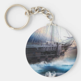 Hope Within The Storm Keychain