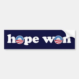Hope Won Bumper Sticker