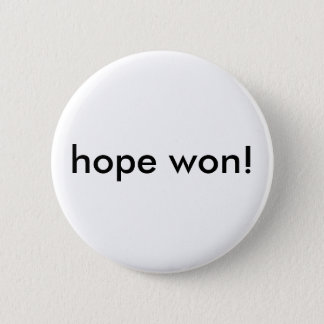 hope won! button