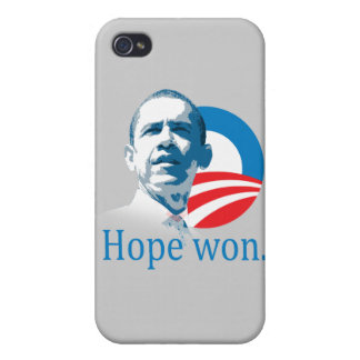 HOPE WON O LOOK -.png iPhone 4 Case