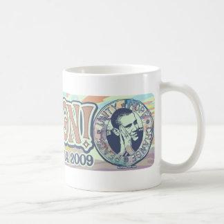 Hope Won President Obama Mug