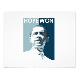 Hope Won T-shirt Announcement