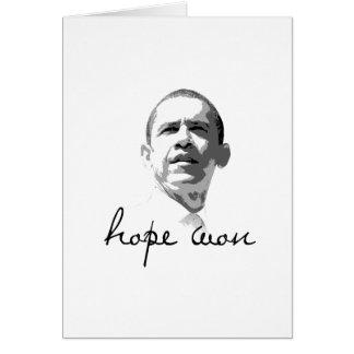 Hope Won T-shirt Card