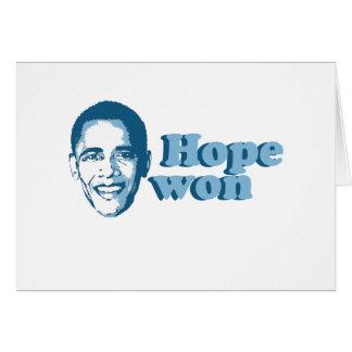 Hope Won T-shirt Cards