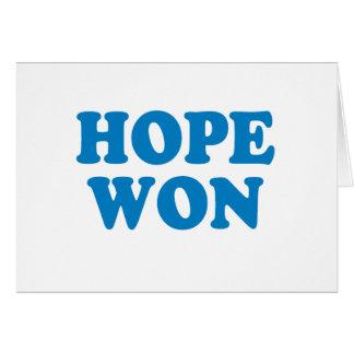 Hope Won T-shirt Greeting Card