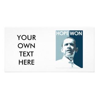 Hope Won T-shirt Photo Cards