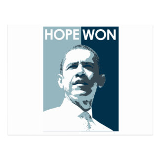 Hope Won T-shirt Post Cards
