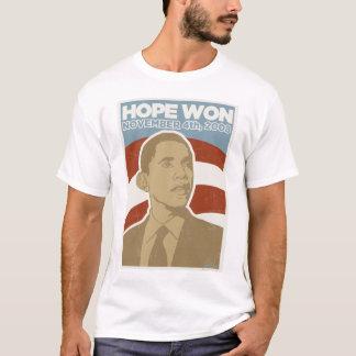 """Hope Won!"" Vintage President Obama Shirt"