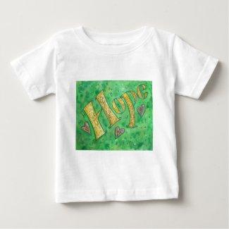Hope Word Art Inspirational Custom T-Shirts