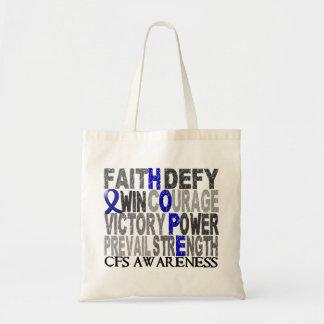 Hope Word Collage CFS Tote Bag
