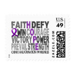 Hope Word Collage Chiari Malformation Postage