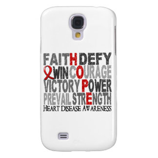 Hope Word Collage Heart Disease Samsung Galaxy S4 Cover