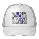 Hope Word Collage Huntington's Disease Trucker Hat