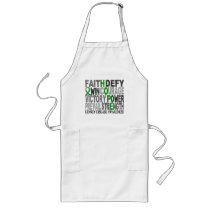 Hope Word Collage Kidney Disease Long Apron