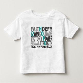 Hope Word Collage PKD Shirts