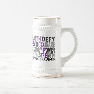 Hope Word Collage Sarcoidosis Coffee Mugs
