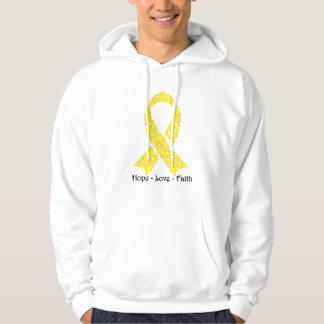 Hope Yellow Awareness Ribbon Sweatshirt