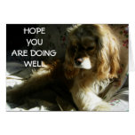 """""""HOPE YOU ARE DOING WELL"""" CARD"""
