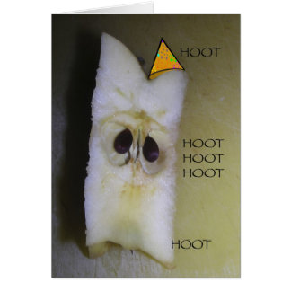 Hope you have a hoot on your birthday! card