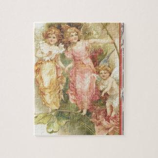 Hopeful - Angels & Flowers Jigsaw Puzzle