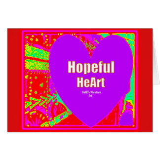 Hopeful Heart. Card