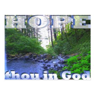 HopeInGod Postcard
