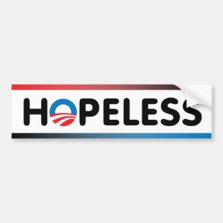 Hopeless Car Bumper Sticker