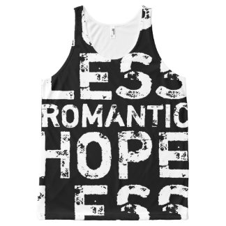 Hopeless Romantic All-Over Print Tank Top