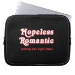 HOPELESS ROMANTIC COMPUTER SLEEVE