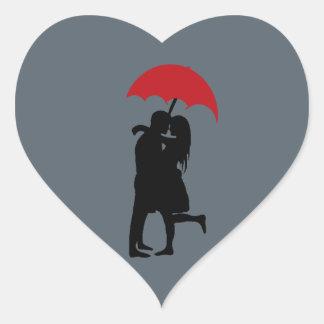 Hopeless Romantic Heart Sticker
