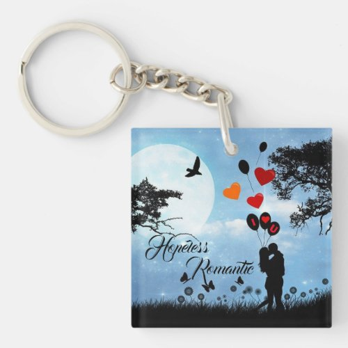 Hopeless Romantic _ Love is in the Air Keychain