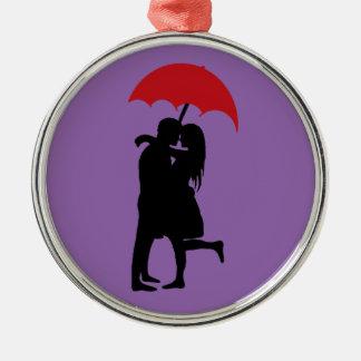 Hopeless Romantic Metal Ornament