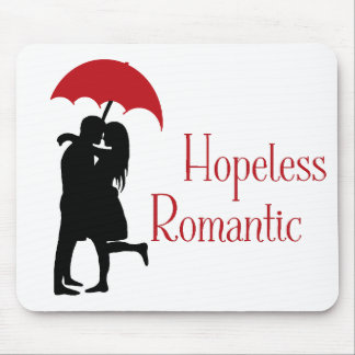 Hopeless Romantic Mouse Pad