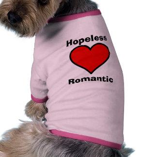 Hopeless Romantic Pet Shirt