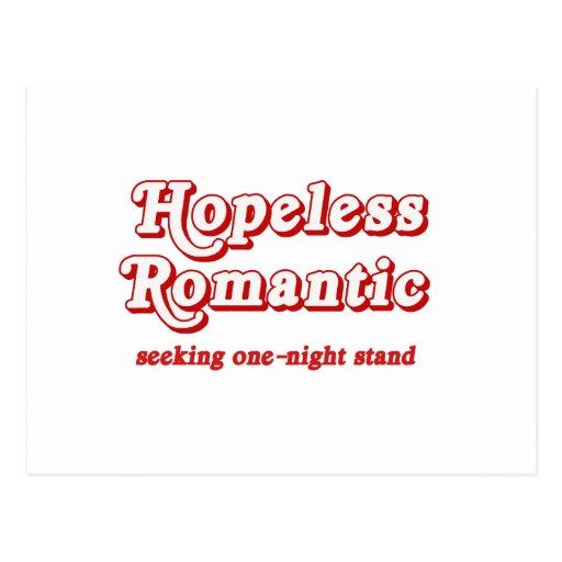 Hopeless Romantic Postcard