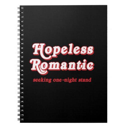 HOPELESS ROMANTIC SPIRAL NOTE BOOK