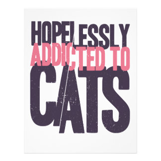 Hopelessly Addicted to Cats Letterhead